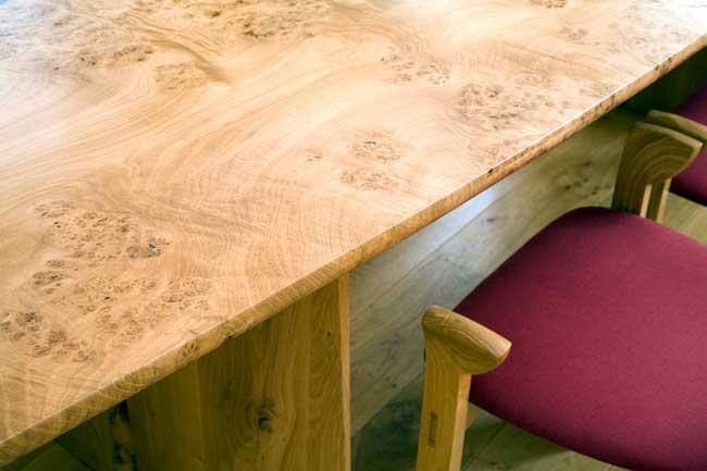 Burr Oak Table Top