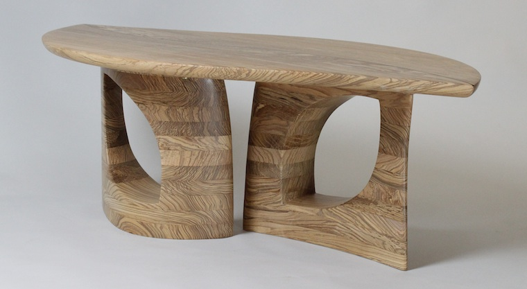 design wooden furniture. Leaf Table In Oxfordshire Olive Ash: My Latest Design That Combines Sculptural Qualities With Functional Needs Next Wooden Furniture